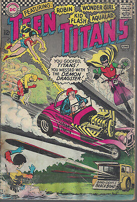Teen Titans #3 GD+  Silver Age  June 1966