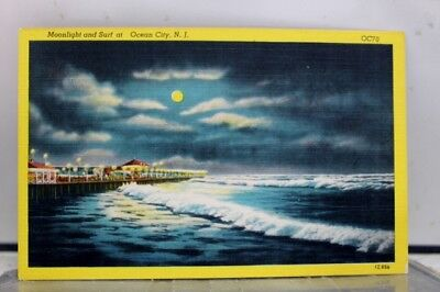 New Jersey NJ Ocean City Postcard Old Vintage Card View Standard Souvenir Postal