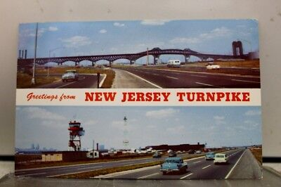 New Jersey NJ Turnpike Postcard Old Vintage Card View Standard Souvenir Postal