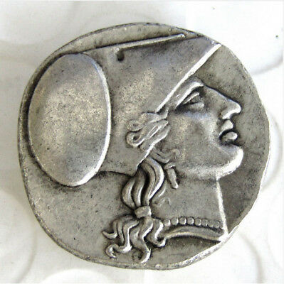 Rare Ancient Greek Silver Corinth Stater Coin from Syracuse - 304 BC Coins