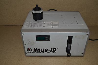 Particle Measuring Systems Pms  Nano-Id Particle Counter