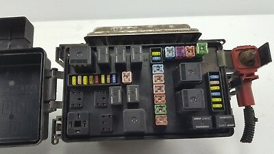 2005 - 2007 Dodge Magnum Fuse Box Relay Unit P: P04692234AB ... Air Con Dodge Magnum Fuse Box on