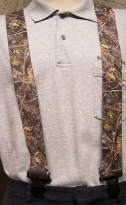 """Suspenders 2/""""x48/"""" FULLY Elastic Hunter/'s Foliage cammie NEW"""