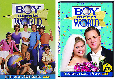 Boy Meets World Complete Season Six Seven 6 7 DVD Collection Brand NEW Comedy