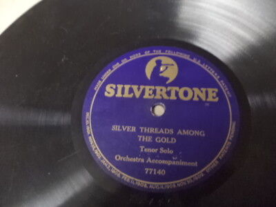 Teens SILVERTONE 1-Sided 78/Tenor Vocal w.Orch./E