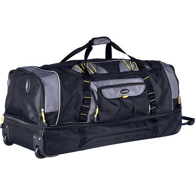 """Travelers Club Luggage Sierra Madre 36"""" Two-Toned Softside Checked NEW"""