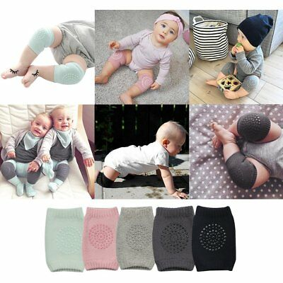 Toddler Kids Kneepad Protector Non-Slip Safety Crawling Knee Pads For Child XO