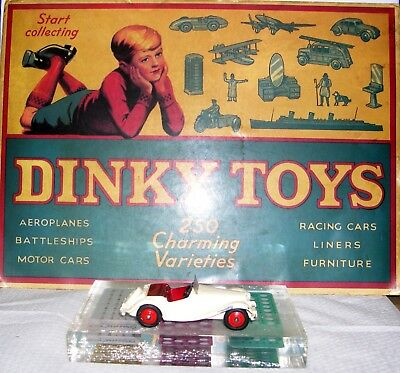 Dinky GB 129 cream MG Midget US issue. G@@D & RARE! OFFERTA!