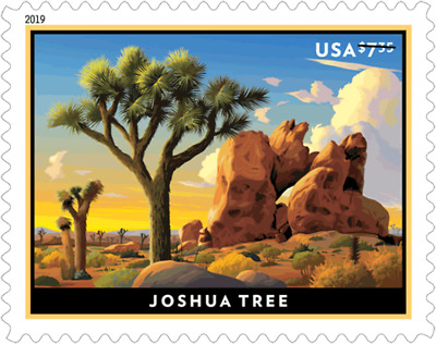 #5347 2019 Joshua Tree Priority Mail Single - MNH