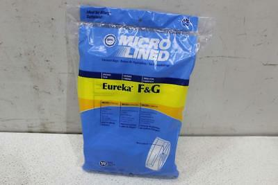 Misc Lot of DVC 456705 Eureka F&G Paper Bag Microlined (10 Pack)