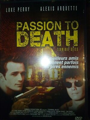 DVD PASSION TO DEATH de JORDAN ALAN avec LUKE PERRY, ALEXIS ARQUETTE.