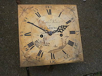 C1790 8day LONGCASE GRANDFATHER CLOCK DIAL+movement 11X11