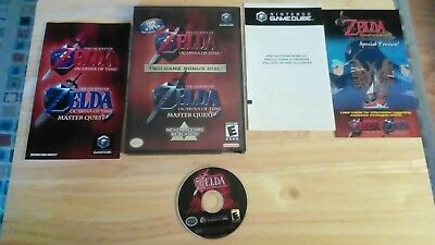 The Legend of Zelda: Ocarina of Time Master Quest - GameCube - COMPLETE