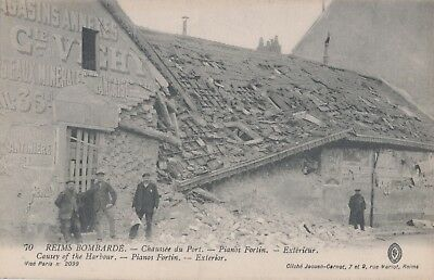 CPA 51,Reims Piano Fortin Chaussée du Port