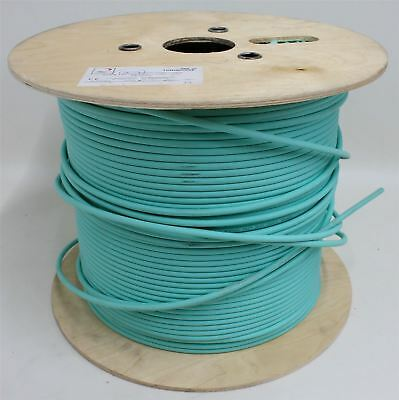 ARGOSY Image 1000 UHD LSOH 75 Ohm Turquoise Coaxial Speaker Cable 450m Drum
