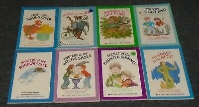 A Troll Easy-To-Read Mystery LOT OF 8 Children's Books