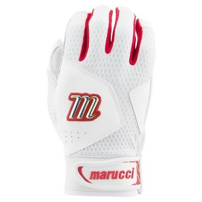 Marucci Quest Batting Gloves MBGQST2 - Red - XL