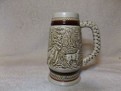 "Avon Collectibles--Vintage 1983 ""Antique Western Cowboy Stein""--5"" Tall--Nice"