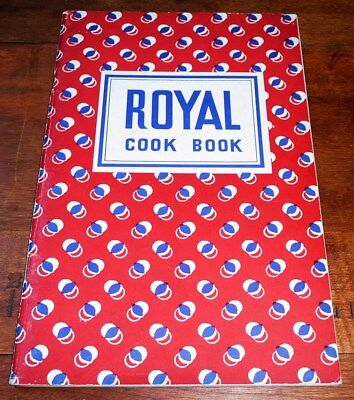 ROYAL COOK BOOK  from Royal Baking Powder Co. Vintage Collectible c 1935 VGC