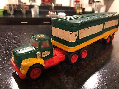 1975 HESS BARREL TRUCK - NO BOX OR BARRELS condition as Seen In pictures