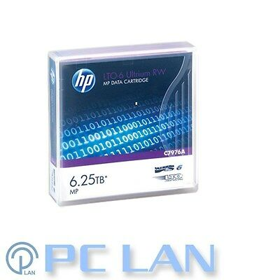 HP LTO-6 Ultrium 2.5TB / 6.25TB RW Data Cartridge P/N: C7976A (QTY 10)