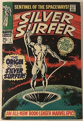 Silver Surfer #1 Origin of the Silver Surfer 1968