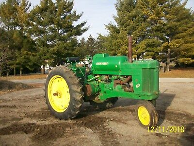 1955 John Deere 60 LP Antique Tractor NO RESERVE farmall allis oliver a b g h m