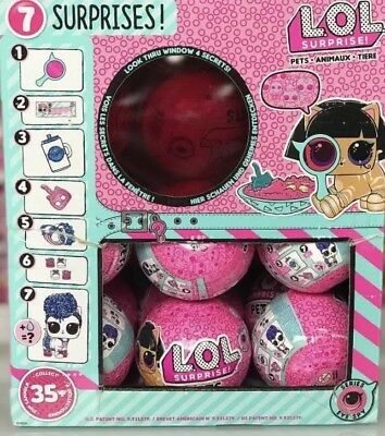 LOL Surprise PETS Ball Series4 Wave2 Pet Doll Balls EyeSpy UniPony Madame Pup ?!