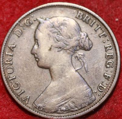 1861 New Brunswick One Cent Foreign Coin