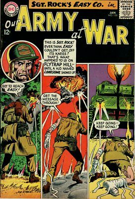 Our Army At War 150 (1965) Sgt Rock! High Grade! Very Fine Minus (7.5)