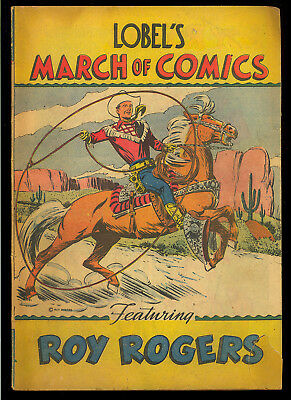 March of Comics #17 (Lone Ranger) Nice Golden Age Giveaway Promo 1948 GD+