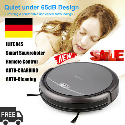 ILIFE A4S Smart Saugroboter Remote Control staubsauger roboter Dust Cleaner 76mm