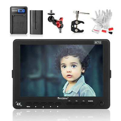 "Bestview S7II 7"" 10 Bit IPS 1920*1200 on Camera HD Video Monitor+ Battery+ Gift"