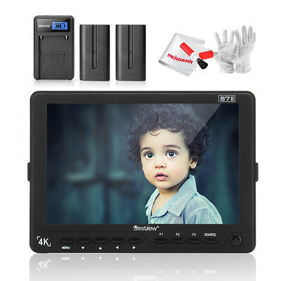 "Bestview S7II 7"" 4K 3G-SDI HDMI IPS 1920*1200 Field Monitor+Battery Pack/Charger"