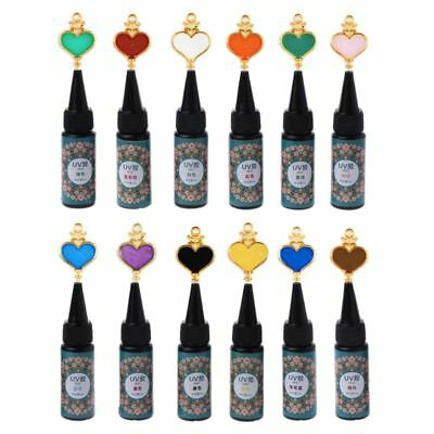 25g Hard UV Resin Ultraviolet Curing Resin Sunlight Activated For Jewelry Making
