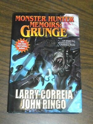 Monster Hunter Memoirs Grunge By Larry Correia Free Shipping