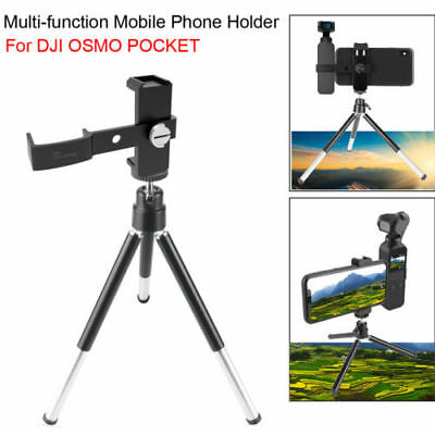 Multifunction Tripod Mount Stand Phone Holder For DJI Osmo Pocket Handheld Cam