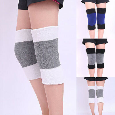 Men Women Thicken Thermal Knee Braces Leg Warmers Winter Warm Knee Pads Sleeves