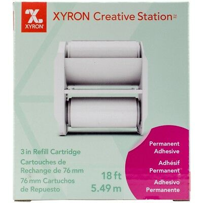 "Xyron Creative Station Permanent Adhesive Refill 3""-"