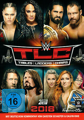 WWE TLC Tables Ladders & Chairs 2018 2x DVD DEUTSCH