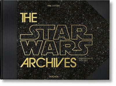 Star Wars Archives: 1977-1983 by Paul Duncan Hardcover Book Free Shipping!
