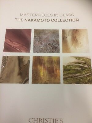 christies auction catalogue Masterpieces In Glass The Nakamoto 2018 New York
