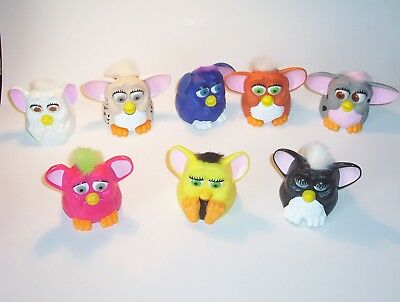 1998   Furbes  Happy Meal  complete 8 piece  set  MINT