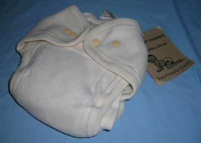 Ecobaby Organics Cloth Diaper ~ One Size - Organic Cotton NEW