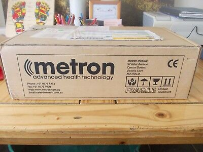 Metron Accusonic Plus 1 and 3 Mhz Sports Therapy Ultrasound Machine in VGC
