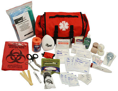 New MedSource Fully Stocked Highway Patrol Medical Cab Bag Pack