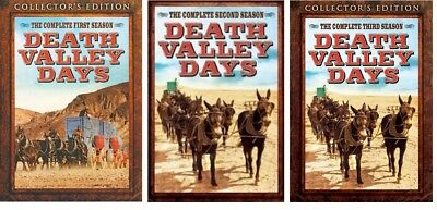 DEATH VALLEY DAYS Complete Seasons 1-3 DVD Bundle BRAND NEW Free Ship