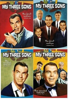 My Three Sons Complete Seasons 1-2 DVD Bundle BRAND NEW Free Shipping