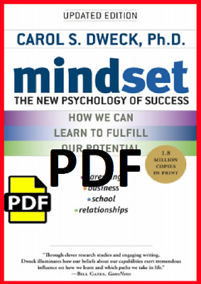 (PDF) Mindset : The New Psychology of Success By Carol S. Dweck  1 MIN DELIVERY.