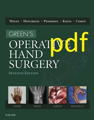 (PDF) Green's Operative Hand Surgery 7th Edition 1 MINUTE DELIVERY !!!